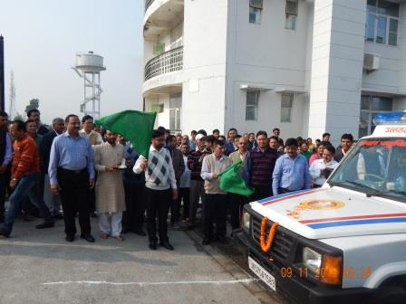 Flagging of Mobile Veterinary Van by Hon. Minister