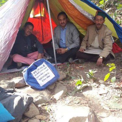 Alpine Tent for Migratory Shepherd