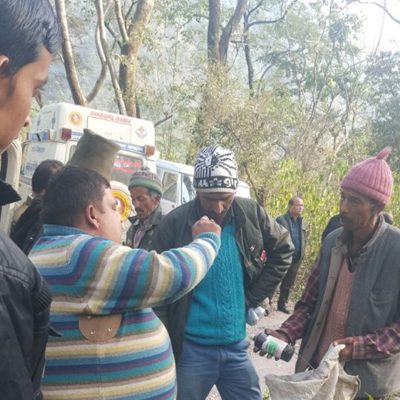 Distribution of Medicine To The Shepherd