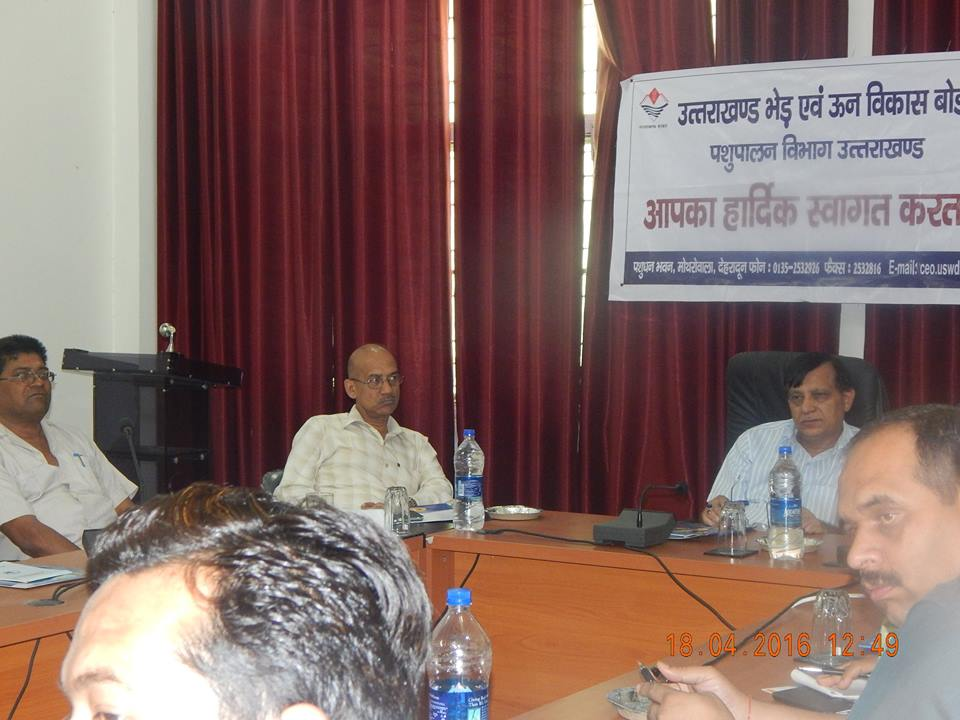 Goat Farmer's Meet, Chaired by Dr. Kamal Mehrotra, Director, Animal Husbandry, Uttrakhand